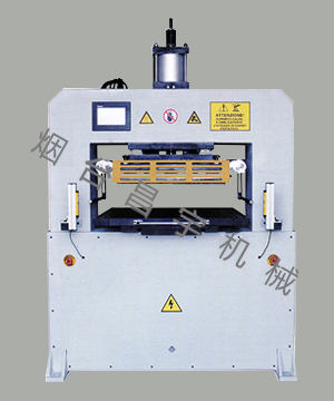 QTM-458-40T 气动烫金模切机